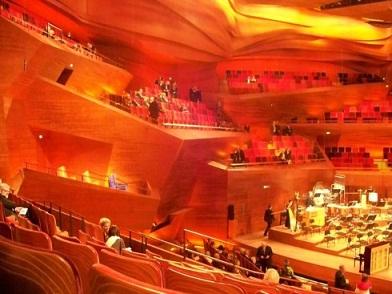 音乐厅内部景观