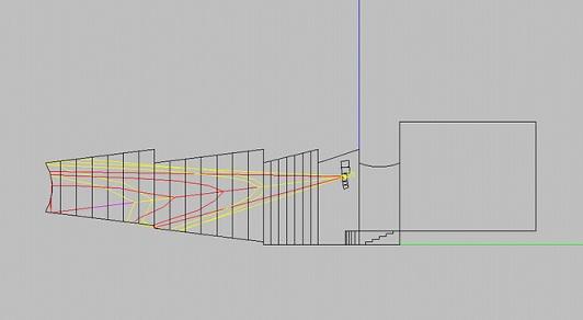 C-MARKCT-3402*4+CT1501*2线阵应用于剧院侧面图