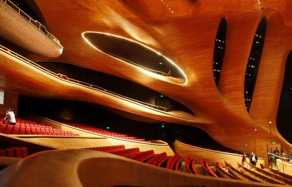 哈爾濱大劇院高標準內部聲學設計