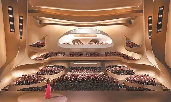 哈爾濱大劇院觀眾廳正面圖